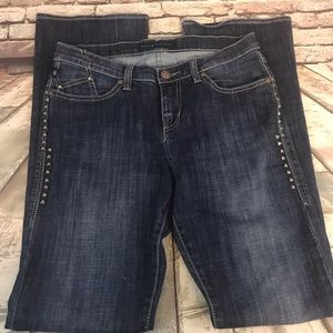 Rock & Republic Kasandra Studded Bootcut Jeans